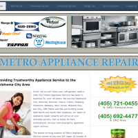 Appliance Repair Website Design