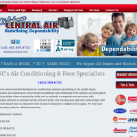 Heat and Air Website